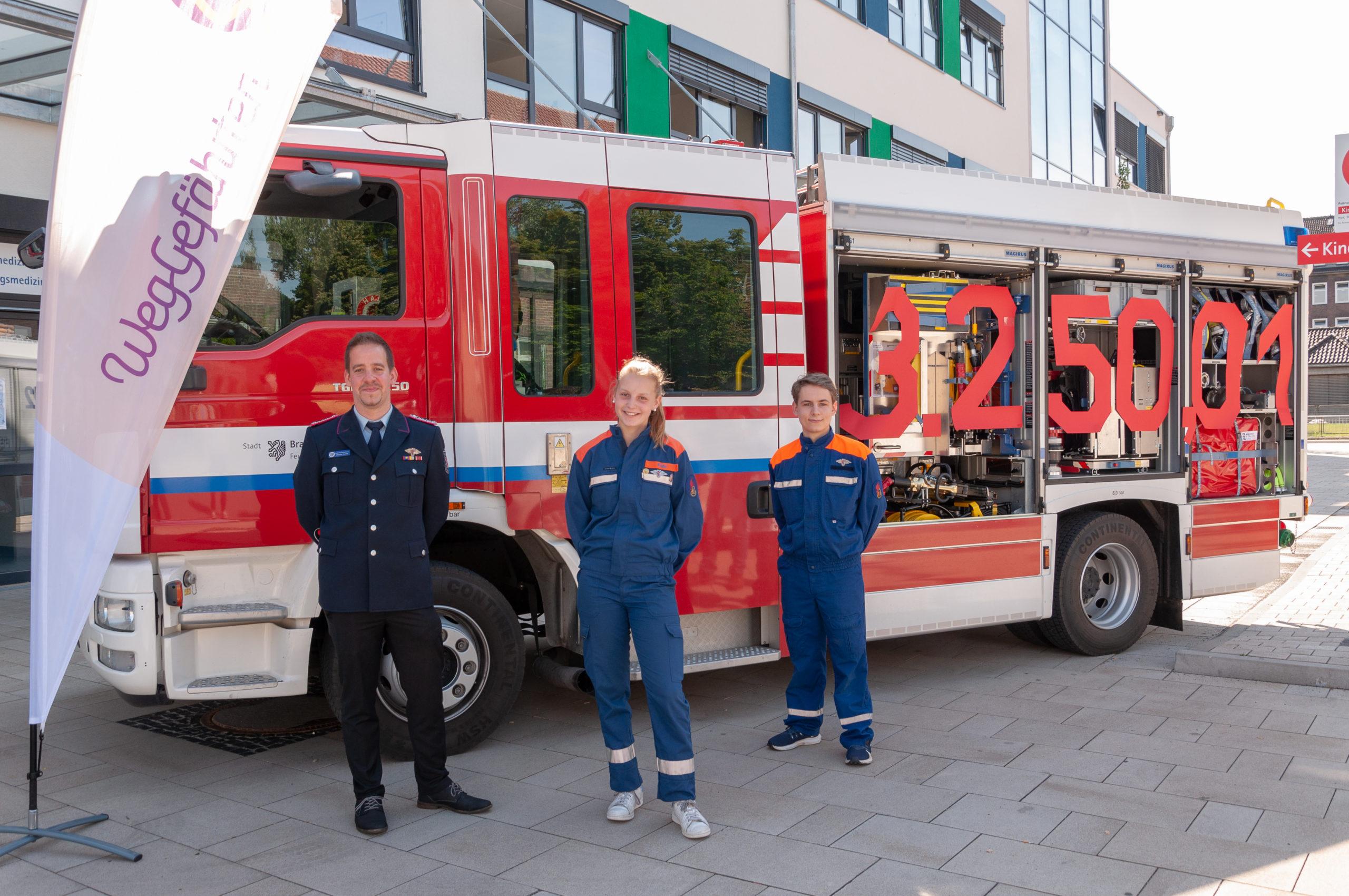 Jugendforum der Jugendfeuerwehr Braunschweig sammelt über 3.200 Euro für wohltätigen Zweck