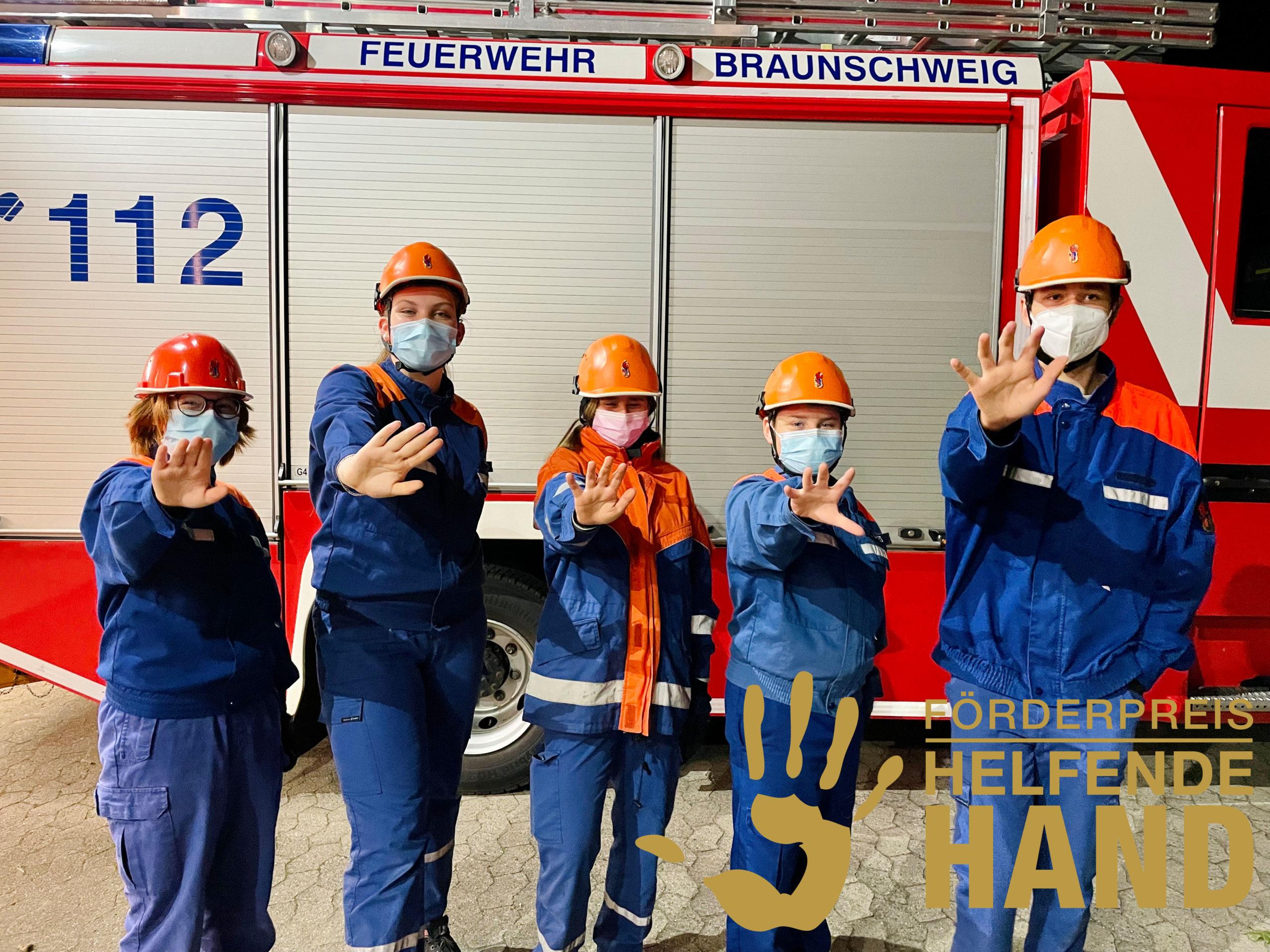 """Jugendfeuerwehr Bienrode für den Förderpreis """"Helfende Hand"""" nominiert"""