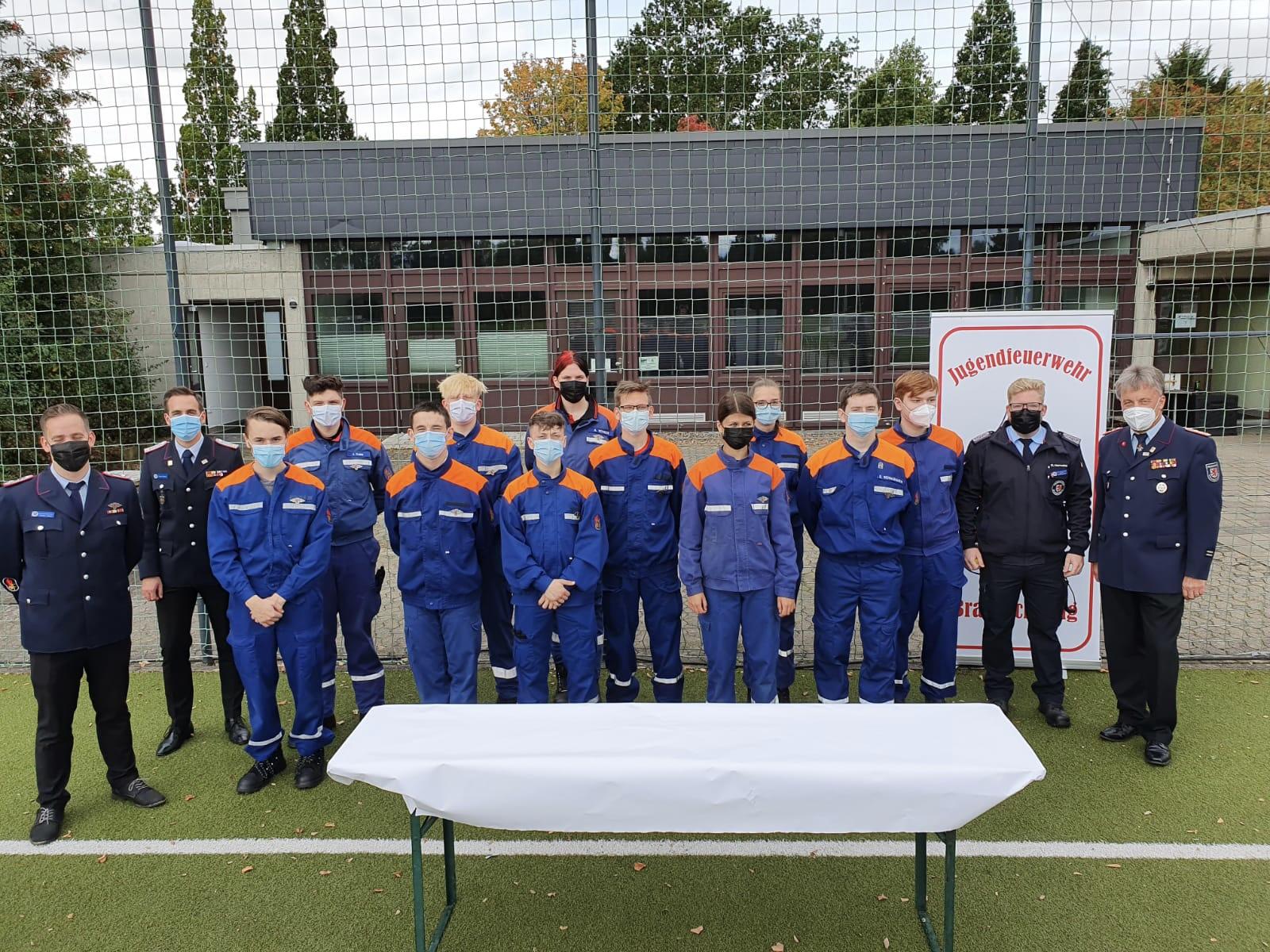 Leistungsspangenabnahme in Braunschweig – Jugendfeuerwehren zeigen erfolgreiche Gemeinschaftsleistung